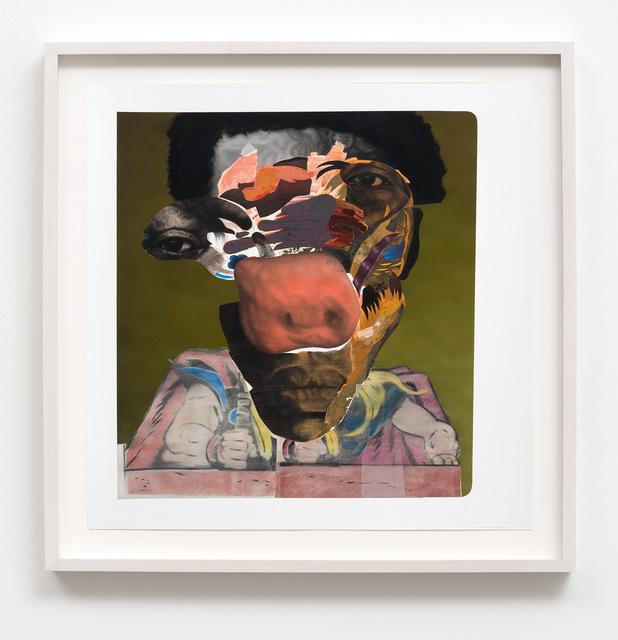 , 'Antoine Jackson,' 2016, M+B