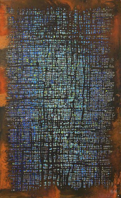 Pierre-Luc Poujol, 'N°298', 2016, Mixed Media, Mixed media on canvas, IDA MÉDICIS Galerie