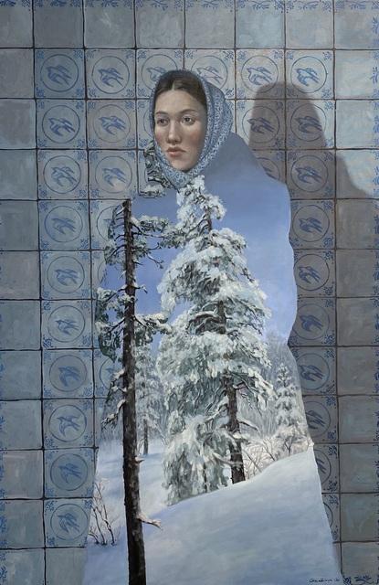 Era Leisner, 'Untitled', 2021, Painting, Oil on canvas, GALLERI RAMFJORD