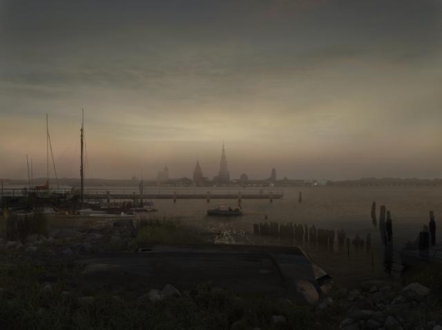 , 'Greifswald im Mondschein, 1817,' 2016, Studio la Città