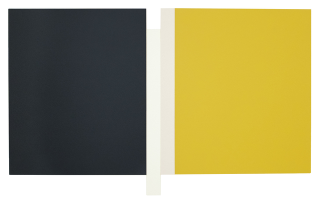 , 'Sunyata - Grey, White, Canvas, Yellow,' 2016, Peter Blake Gallery