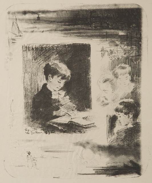 , 'Enfant dessinant (Jean Buhot),' , Childs Gallery