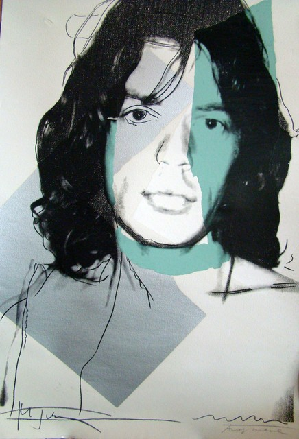 , 'Mick Jagger 138 by Andy Warhol,' 1975, Revolver Gallery