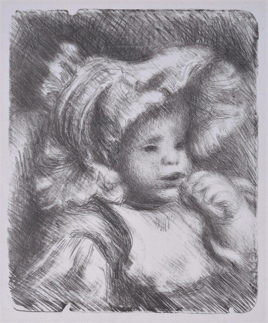, 'L'Enfant au Biscuit. Portrait of Jean Renoir.,' 1898, William Weston Gallery Ltd.