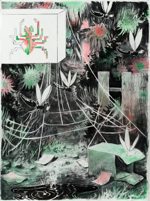 , 'Spinnenstrasse,' 2015, Galerie Kleindienst