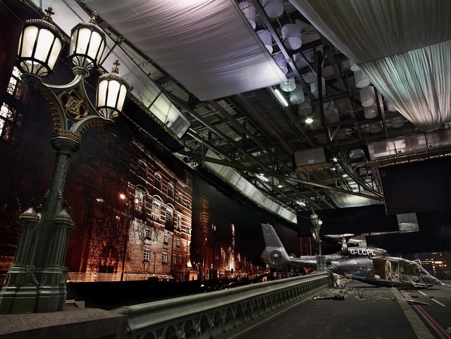 , 'Westmindter Bridge, Panorama with Lamppost, from »On the Set of James Bond's Spectre«,' 2015, CAMERA WORK