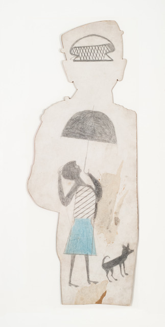 , 'Untitled (woman with umbrella),' 1939-1942, Fleisher/Ollman