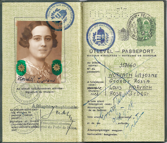 , 'Hungarian Passport,' 2010, The Moving Museum