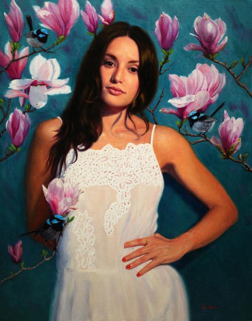 Vicki Sullivan, 'When I dream of Magnolias', 2019, Gallery at Zhou B Art Center