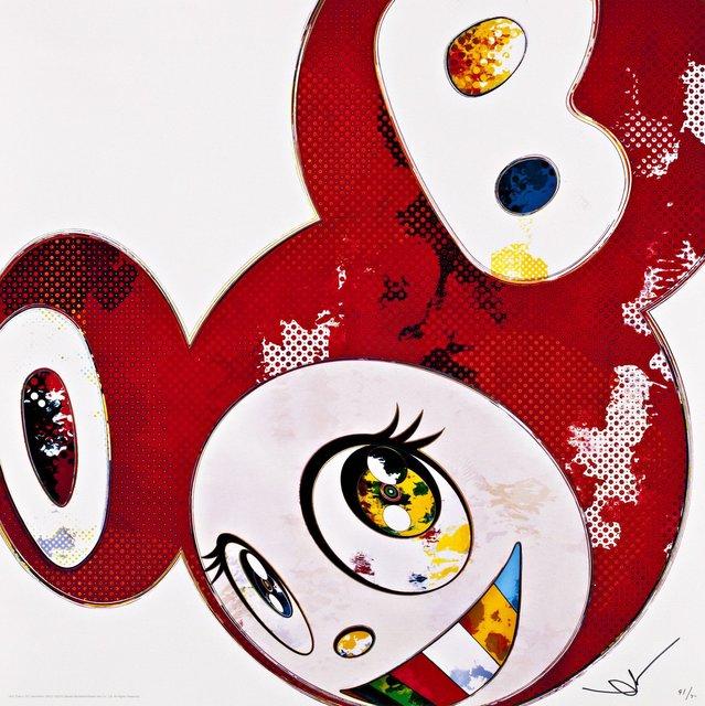 Takashi Murakami, 'And Then x 727 (Vermillion : Shu)', 2013, Dope! Gallery