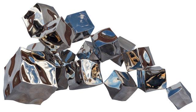 , 'Tumbling cubes,' 2018, Pontone Gallery