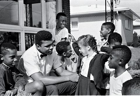 ", 'Muhammad Ali and Yolanda ""Lonnie"" Williams, Louisivill, KY,' 1963, Atlas Gallery"