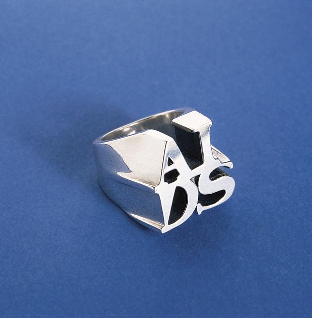 General Idea, 'AIDS Ring', 1993, Mai 36 Galerie