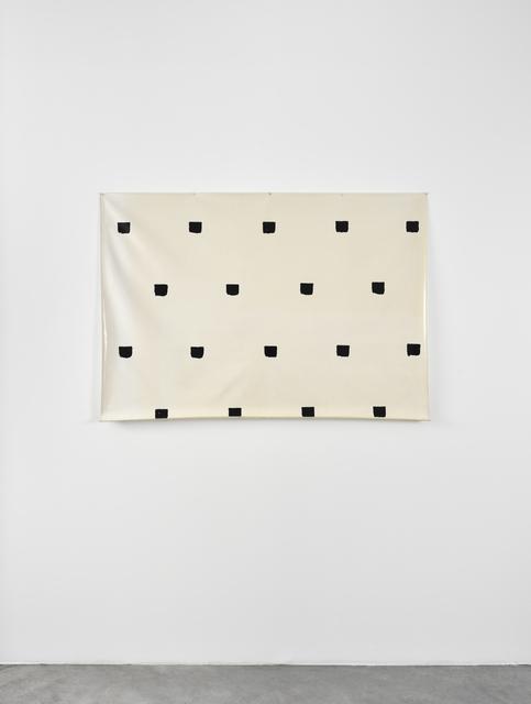 , 'Empreintes de pinceau n°50 à intervalles réguliers de 30 cm,' 1976, Marian Goodman Gallery