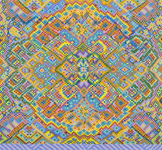 , 'Untitled Grid Painting 5,' 2016, Asya Geisberg Gallery