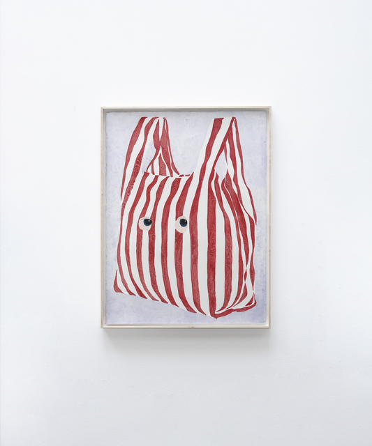 James Rielly, 'New bag', 2020, Painting, Watercolour on paper, Alzueta Gallery