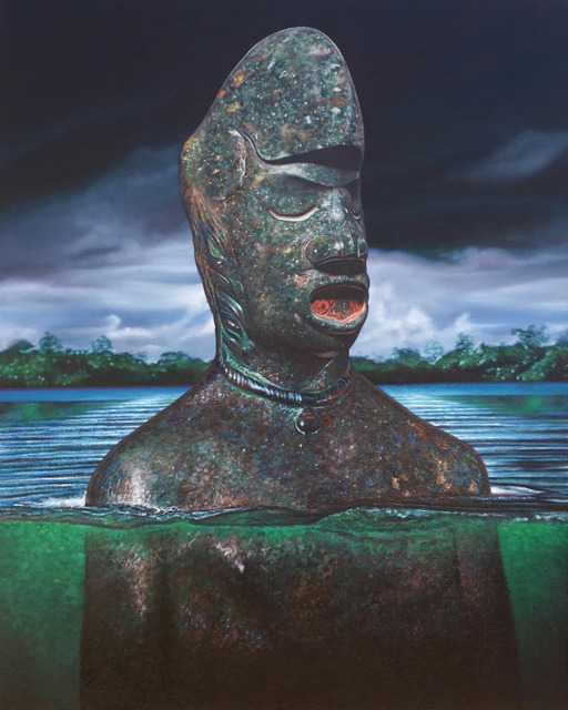, 'Aquatic Submerged III,' 2016, Richard Heller Gallery