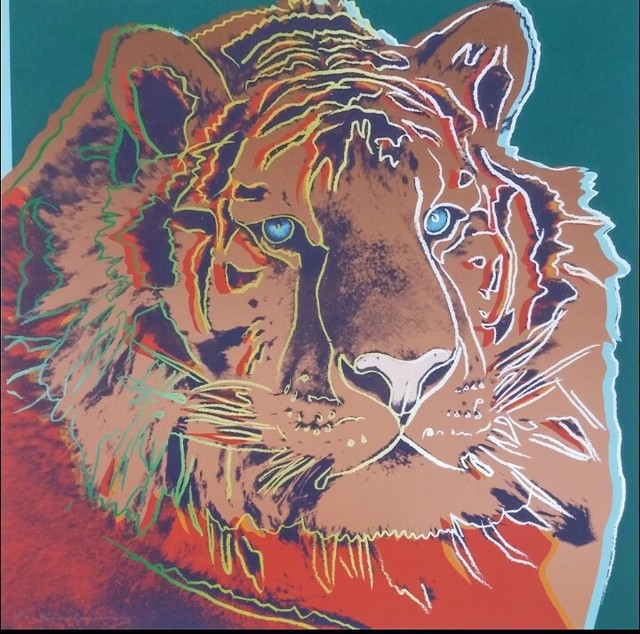 Andy Warhol, 'Siberian Tiger (F&S.II.297)', 1983, Robin Rile Fine Art