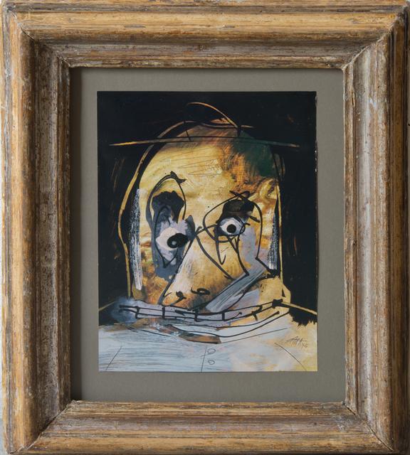 , 'Portrait No 1 (série La Quinta del Sordo / La Maison du sourd),' 1974, Simon Studer Art