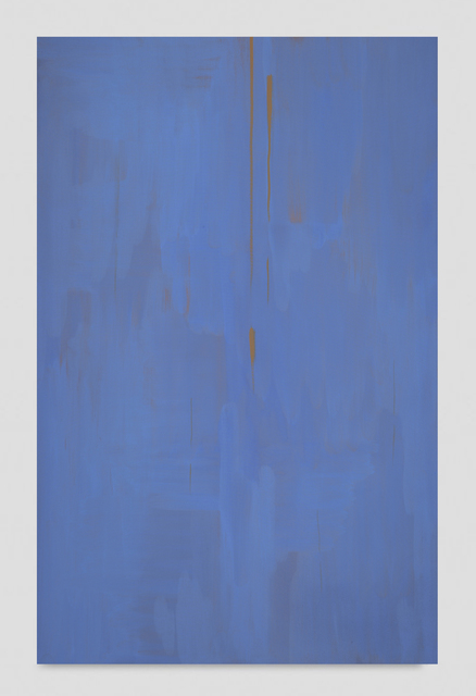 , 'Reflect (Smalt Blue and Gold),' 2019, Night Gallery