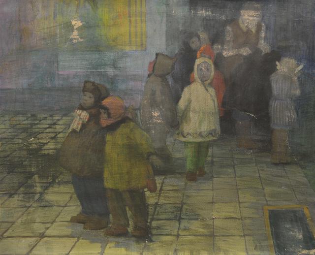 Nadezhda Eliseevna Chernikova, 'Going to the party', 1970, Surikov Foundation