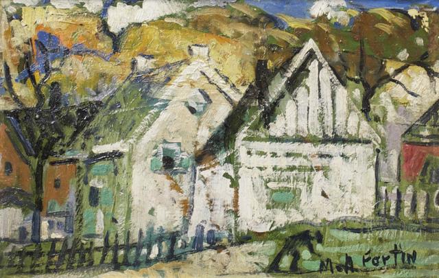 , 'Vieilles Maisons,' , Cosner Art Gallery
