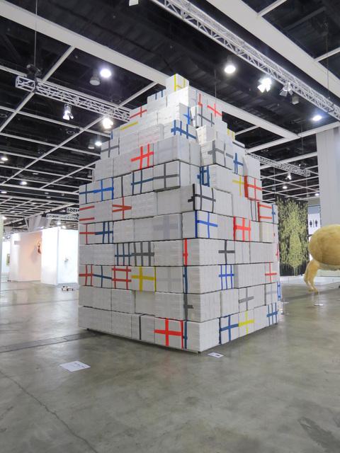, 'Mausoleum,' 2015, Edouard Malingue Gallery