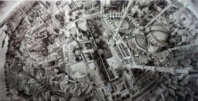 , 'Vertigo - trittico,' 2013, Fabbrica Eos