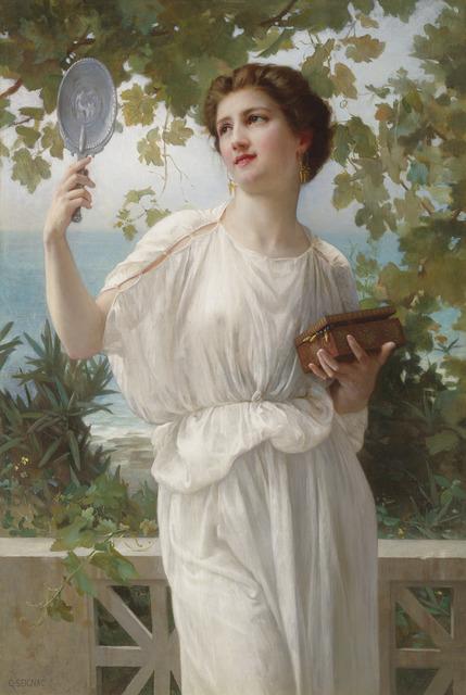 , 'Admiring Beauty,' 1815-1918, M.S. Rau Antiques
