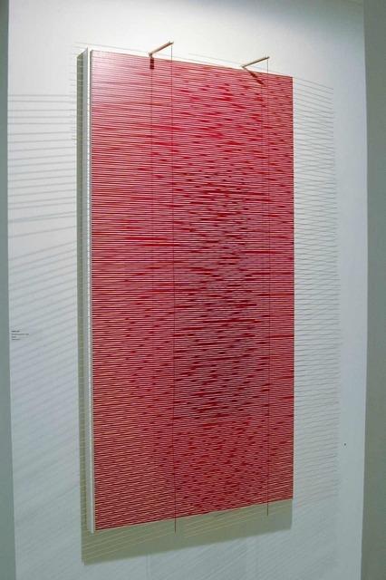 , 'el ovalo escarlata,' 2002, Galerie Denise René