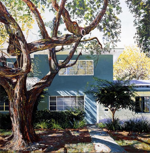 Yves Bélorgey, 'Baldwin Hills Village ou Village Green (II) ', 2016, Painting, Oil on canvas, Xippas
