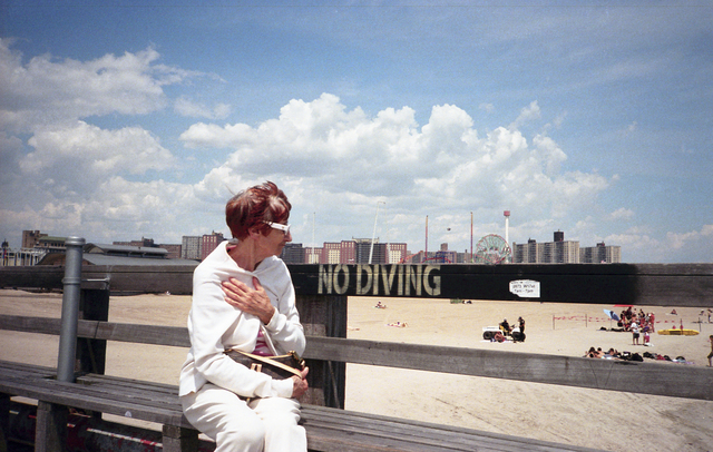 , 'No Diving, Coney Island,' 2011, Court Tree Gallery