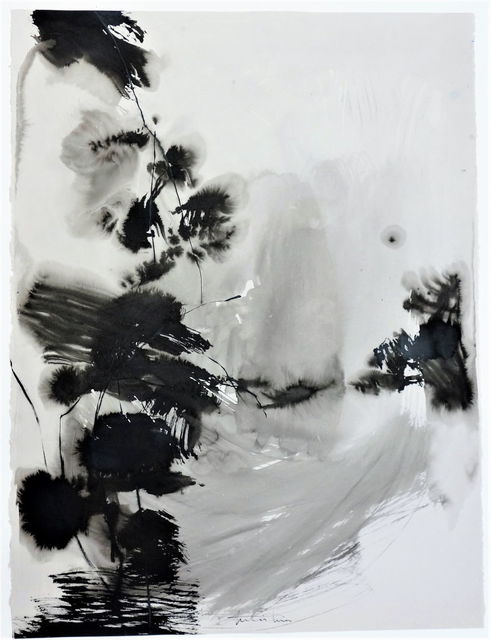Teresa Pera, 'Without Title, abstract inkdrawing on paper', 2011, PontArte