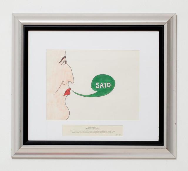 , 'The Beatles, She Said So/I Feel Fine Cel 109,' , HG Contemporary