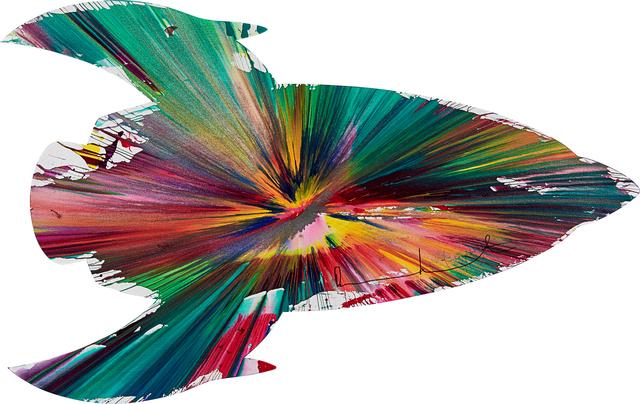 Damien Hirst, 'Rocket Spin Painting (Created at Damien Hirst Spin Workshop)', 2009, Rago