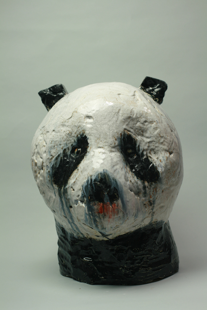 , 'Panda Head,' 2015, Turner Carroll Gallery