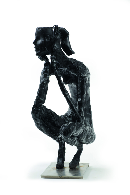 , 'Giacometti's Granddaughter as a Supermodel,' 2013, Zemack Contemporary Art