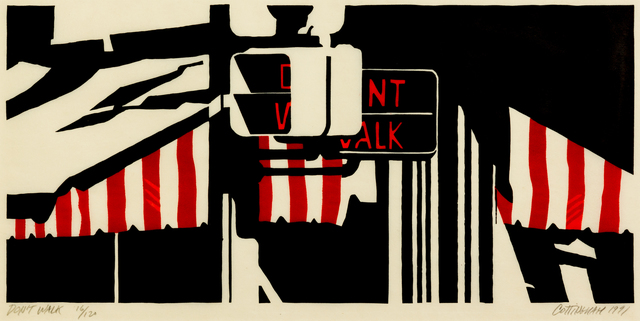 Robert Cottingham, 'Don't Walk', 1991, Hindman