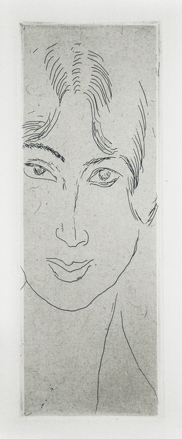 , 'Mlle Landsberg au long visage,' 1914, Lyndsey Ingram
