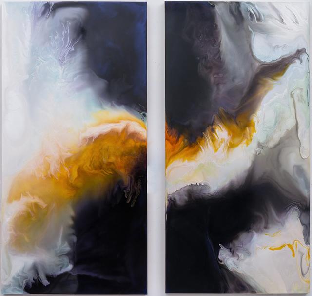 , 'Self Similarities i & II,' 2013, David Richard Gallery
