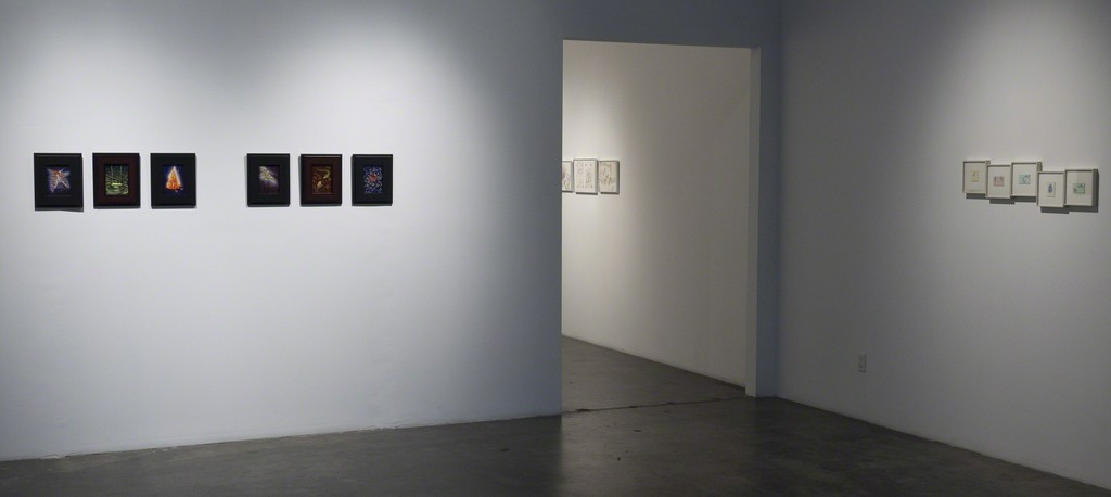 "Installation view of Margaret Nielsen, ""State of Mind,"" at Samuel Freeman gallery, April 2011."