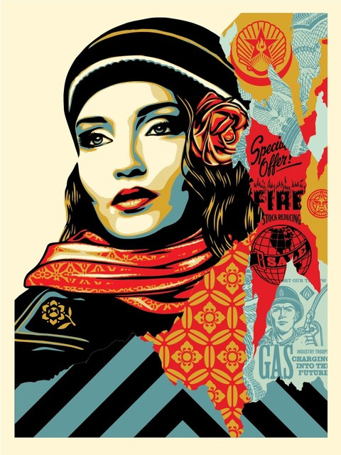 Shepard Fairey (OBEY), 'OBEY FIRE SALE', 2018, Dope! Gallery