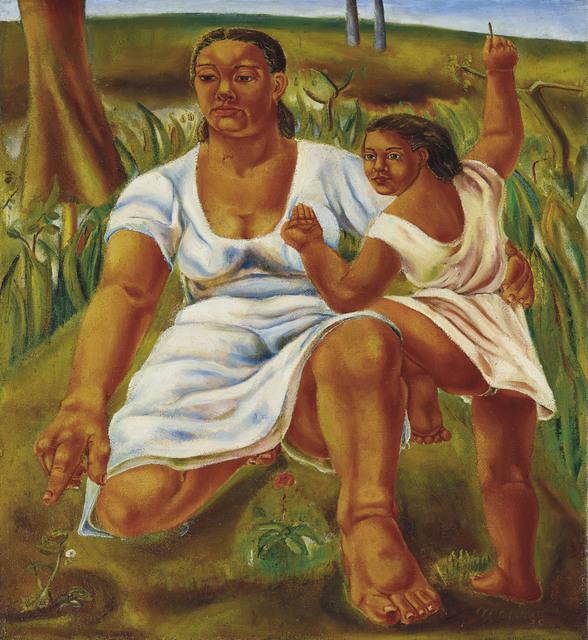 Mariano Rodriguez, 'Educando', 1938, Christie's