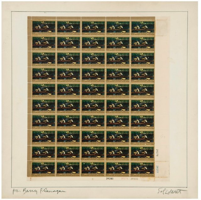 , 'Postage Stamps,' 1967, Richard Saltoun