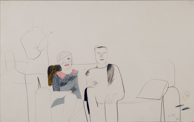 , 'Untitled [Seated portrait of Michael and Anne Upton],' 1965, ARCHEUS/POST-MODERN