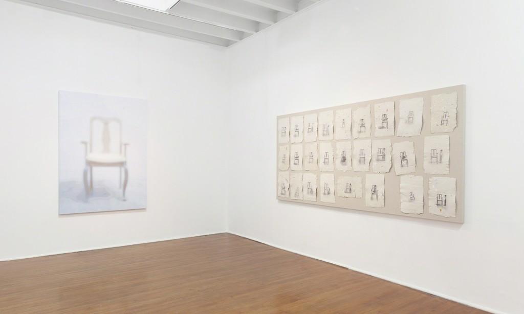 View of Juan, show by Adriana Tomatis @Galeria Lucia de la Puente, 2014