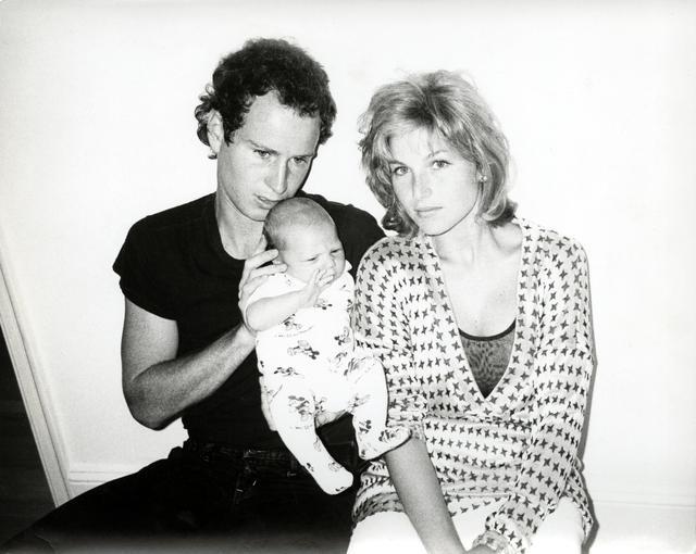 , 'John McEnroe, Tatum O'Neal and baby Kevin,' 1986, The Future Perfect