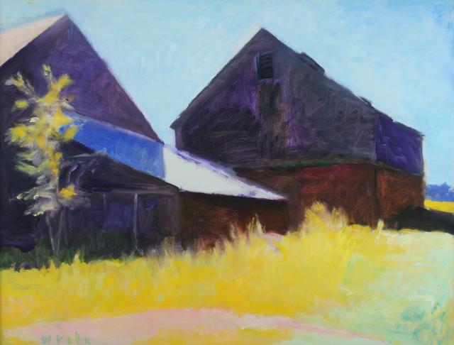 , 'Barns in Silhouette,' 1986, Addison/Ripley Fine Art