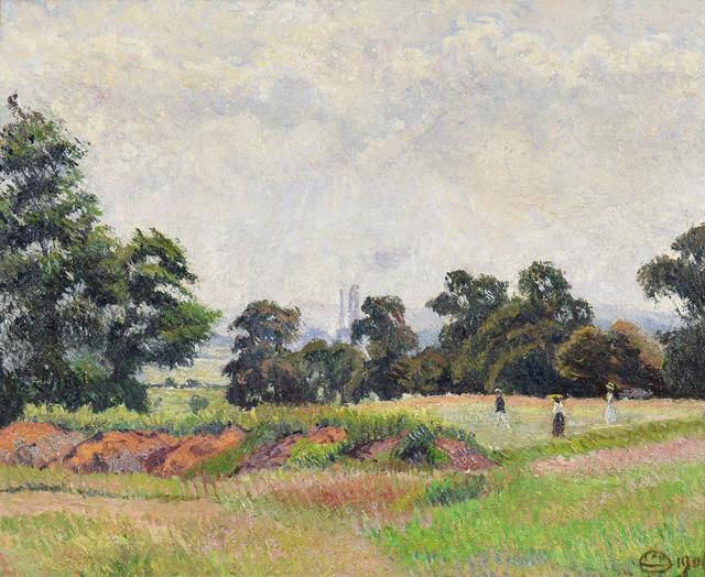 Lucien Pissarro, 'The Golf Links, Acton (A June Morning)', 1906, Stern Pissarro