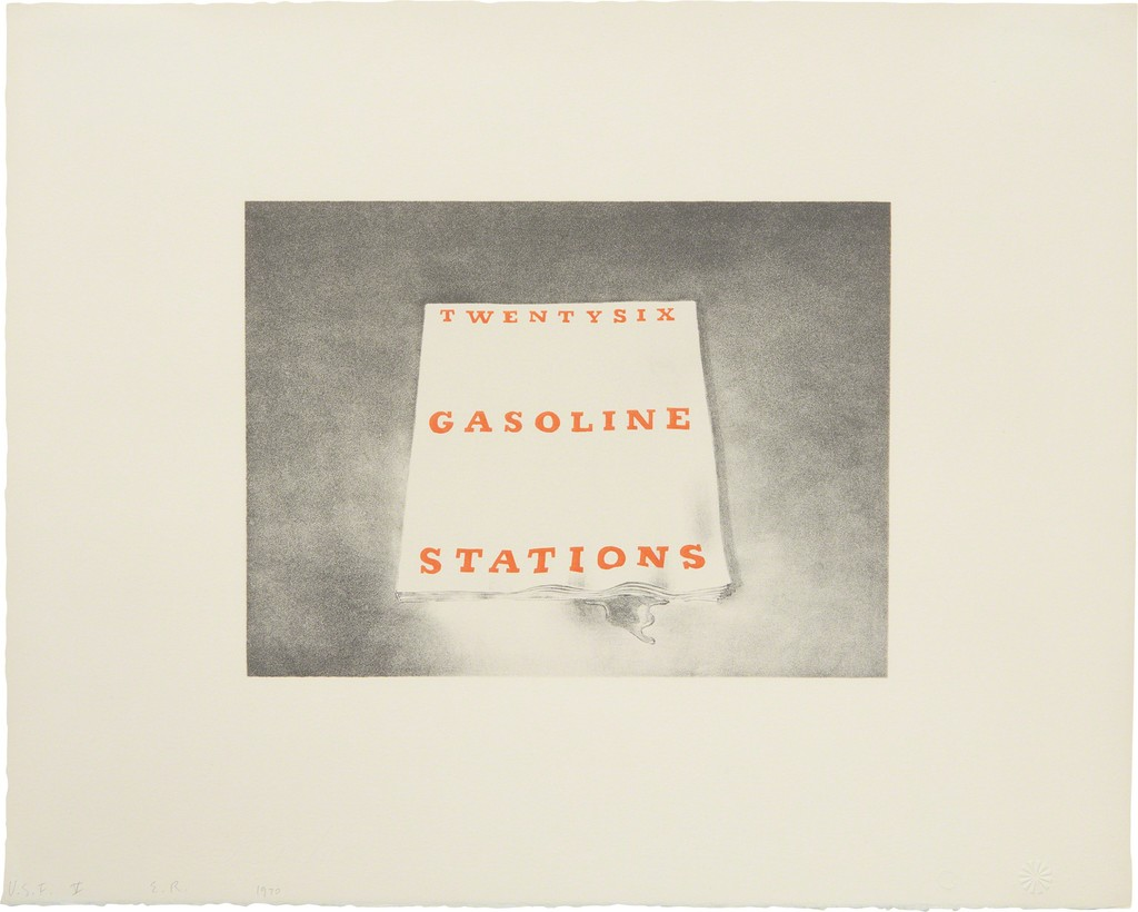 Twentysix Gasoline Stations, from Book Covers